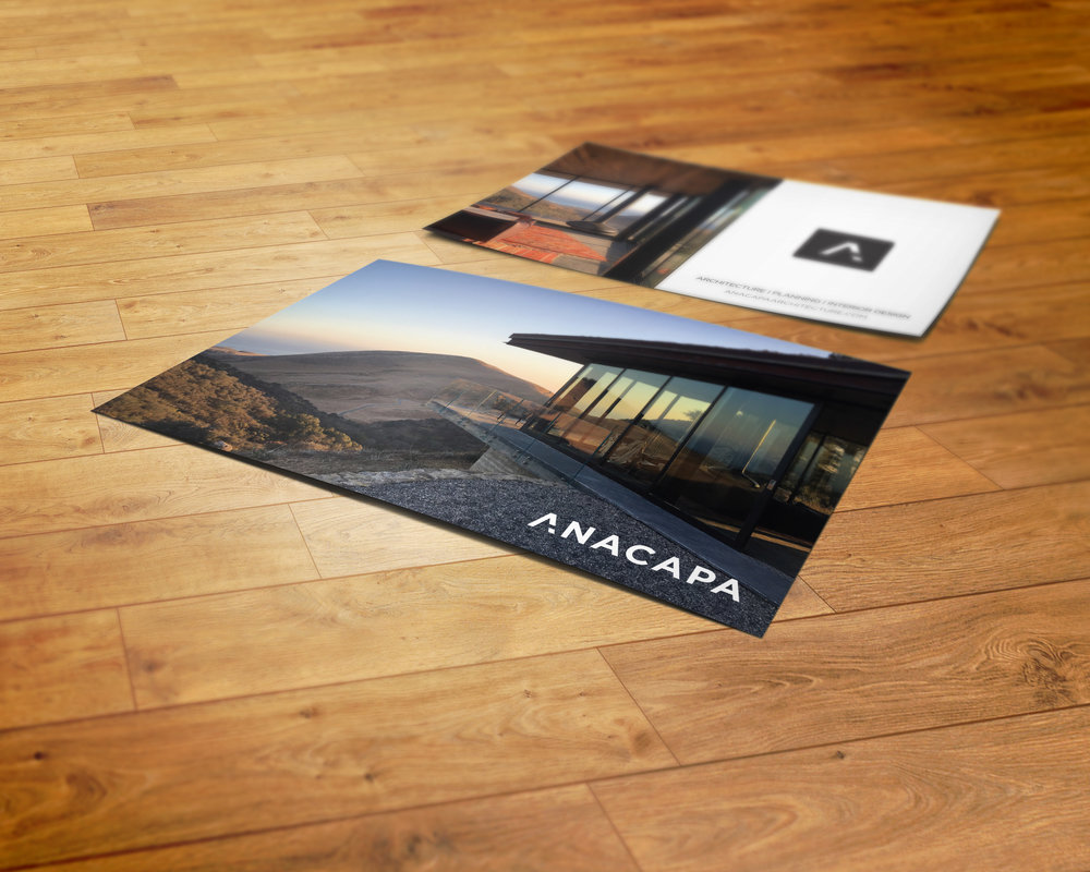 Anacapa Architecture Postcard Design 2