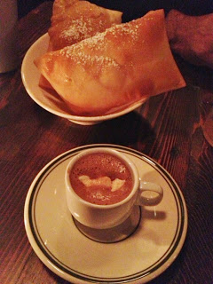 sopapillas & mexican chocolate