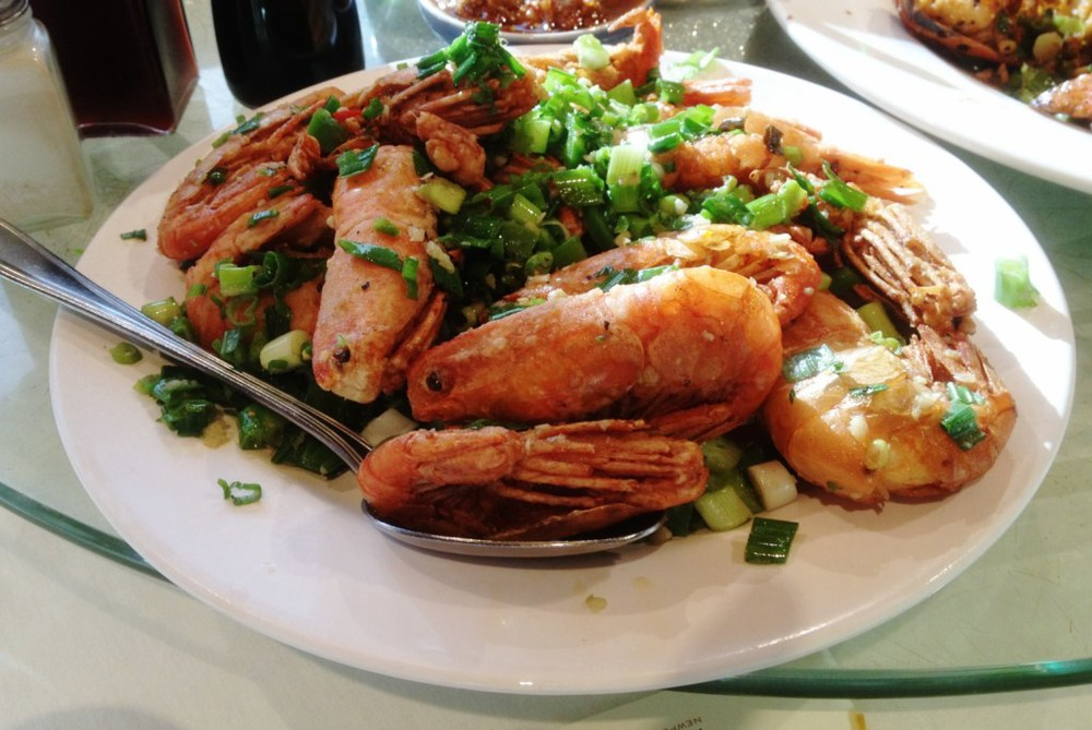 JTYH  and Newport Seafood  SGV