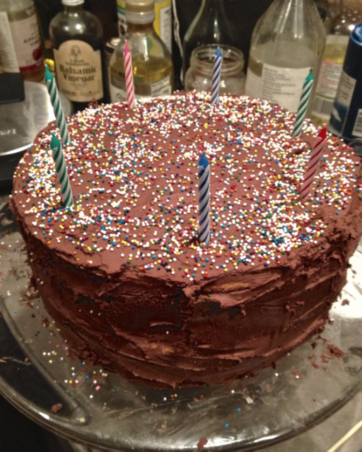 recipe:  birthday cake