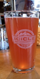 Icicle Brewing Raspberry Wheat