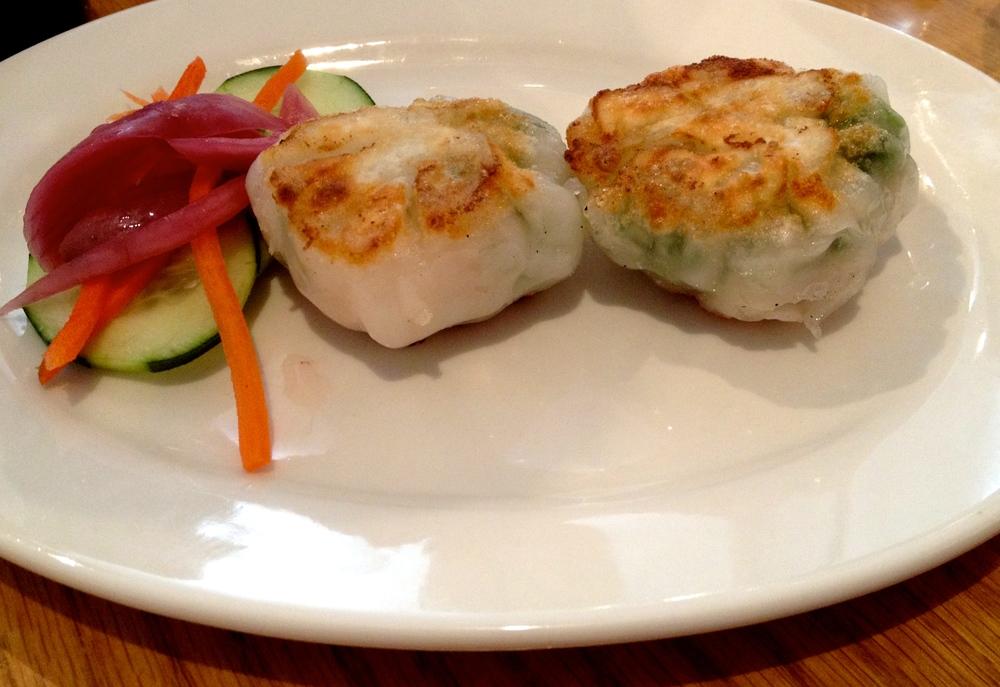 Crispy Shrimp & Chive Wontons