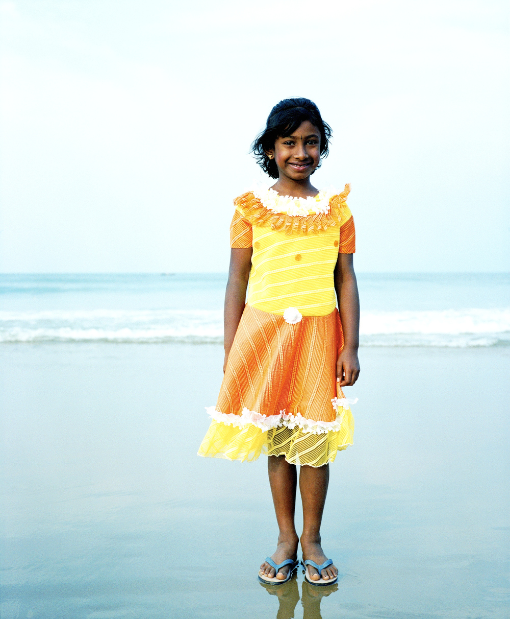 Orange dress girl.Gokarna.jpg