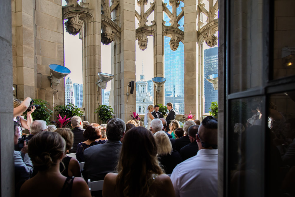 Tribune Tower ceremony