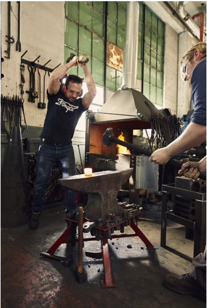 New Book Explores the Art and Craft of the Modern Blacksmith - Click to read more.
