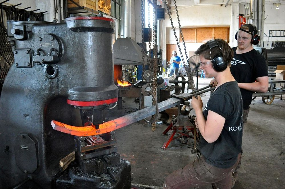Blacksmithing is alive and well in 21st century Charleston - Click to read more.