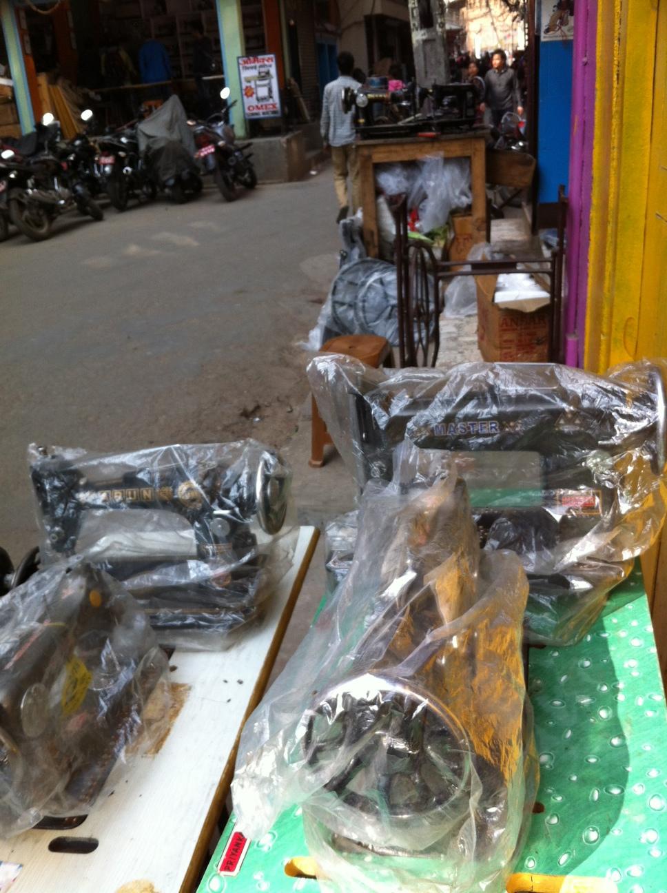 I christened this street....Sewing Machine Shop Street....near New Road, Kathmandu