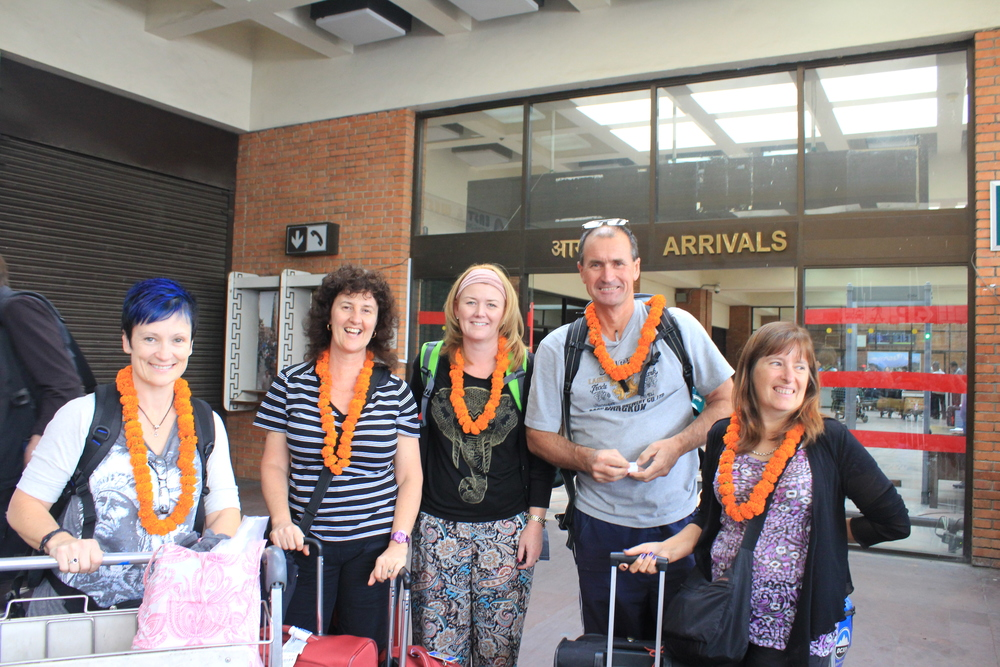 Our Aussie travellers have arrived!