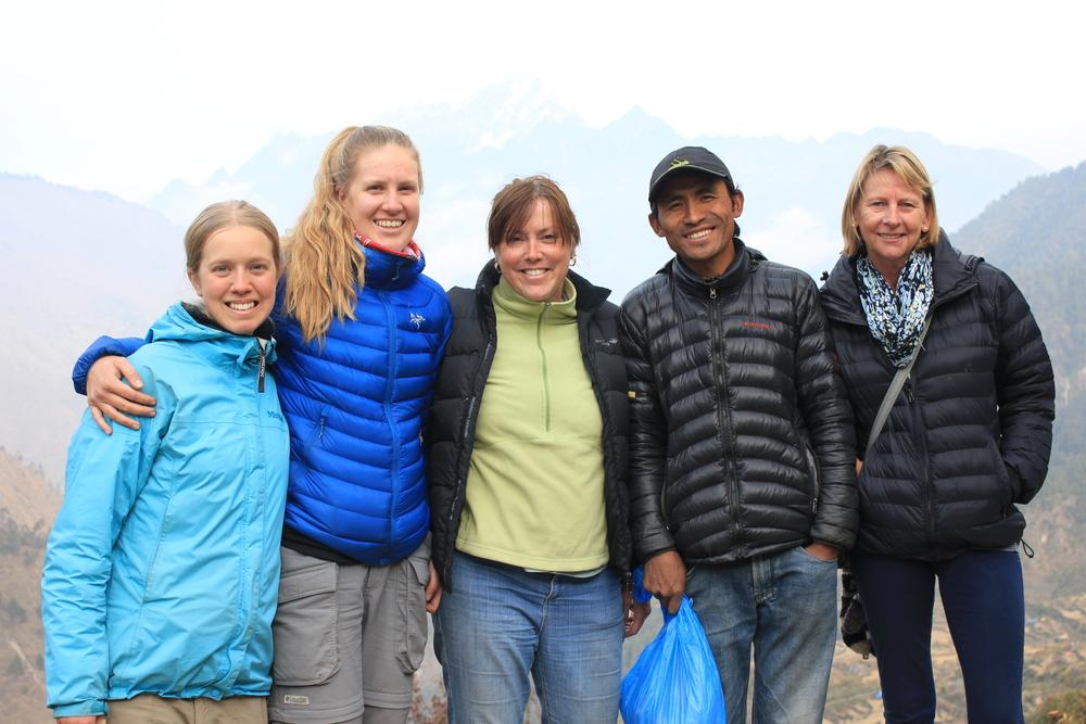 Maja, Josephine, Linda, Rajesh & Margaret