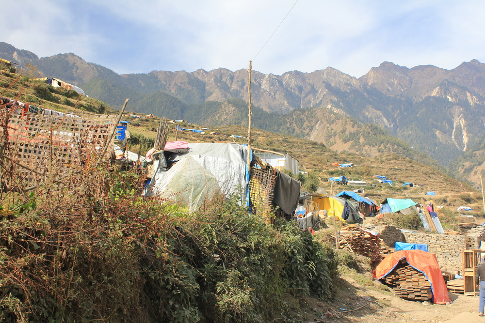 temporary housing Gatlang