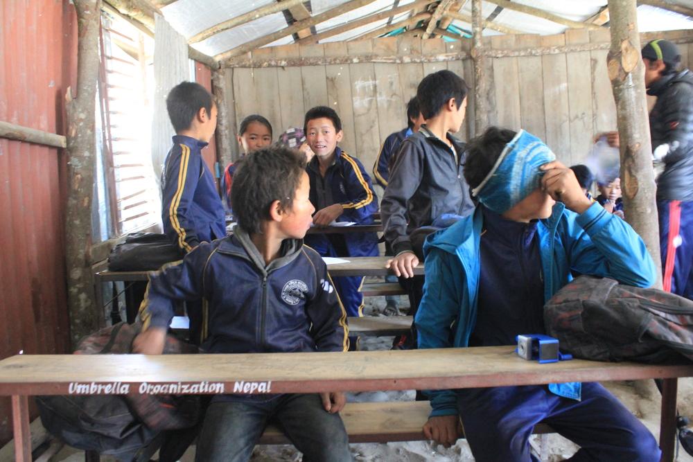 donated desks from Umbrella