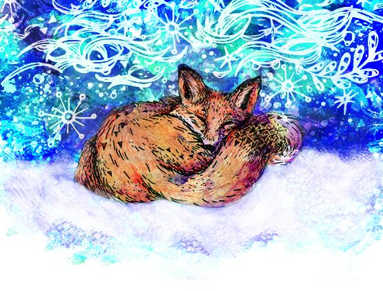 The fox's Dream CARD 2 555.jpg