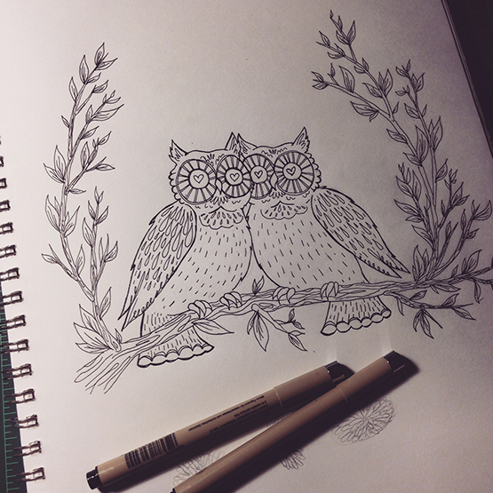 Owls Inking 555.jpg
