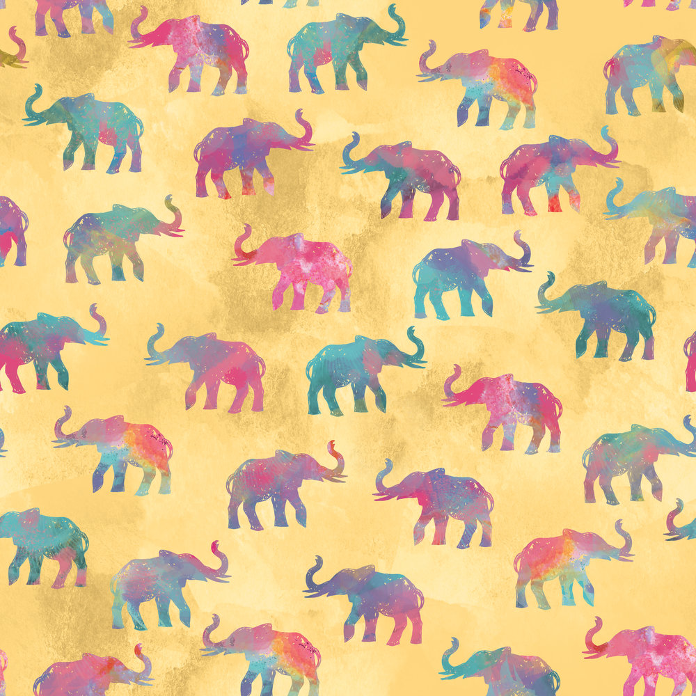 Elephant Pattern Spoonflower_Yellow.jpg
