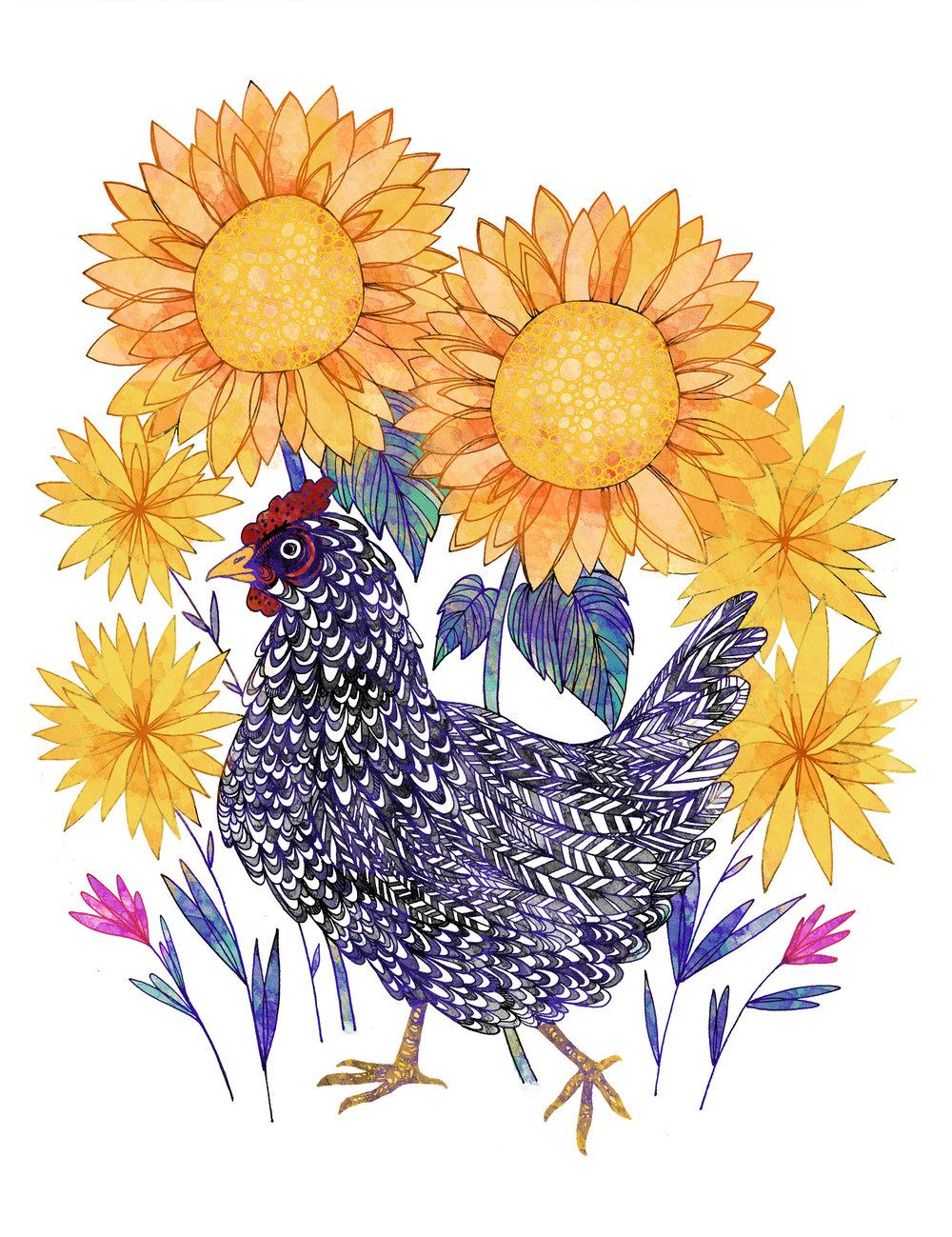 Garden Hen