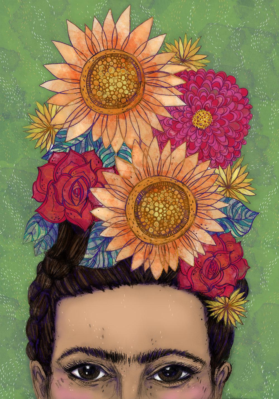 Vibrant Frida