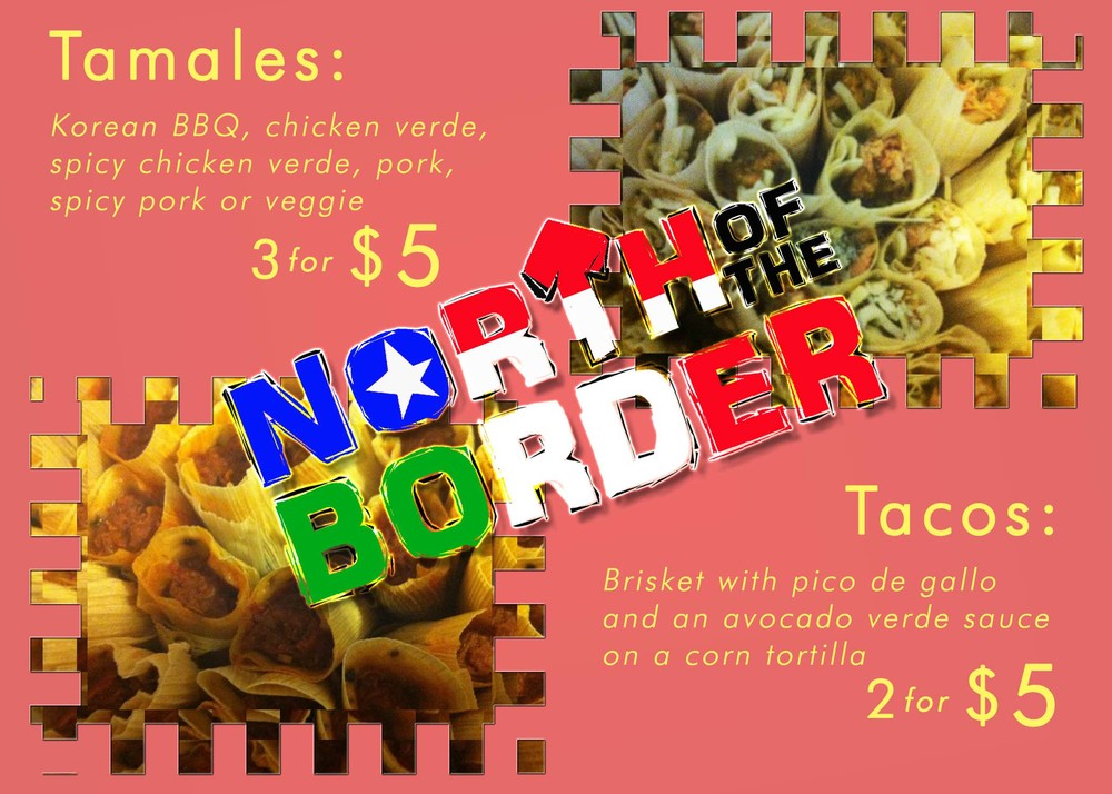 North Of The Border 2014 Menu
