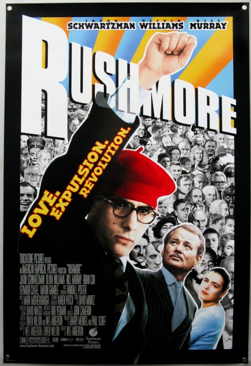 GIANT Rushmore Poster for Wes Dressed Costume Contest Winner courtesy of American Laundromat Records - Winner Teresa Powell NOTE: THIS IS NOT THE ACTUAL POSTER, JUST A REPRESENTATION.