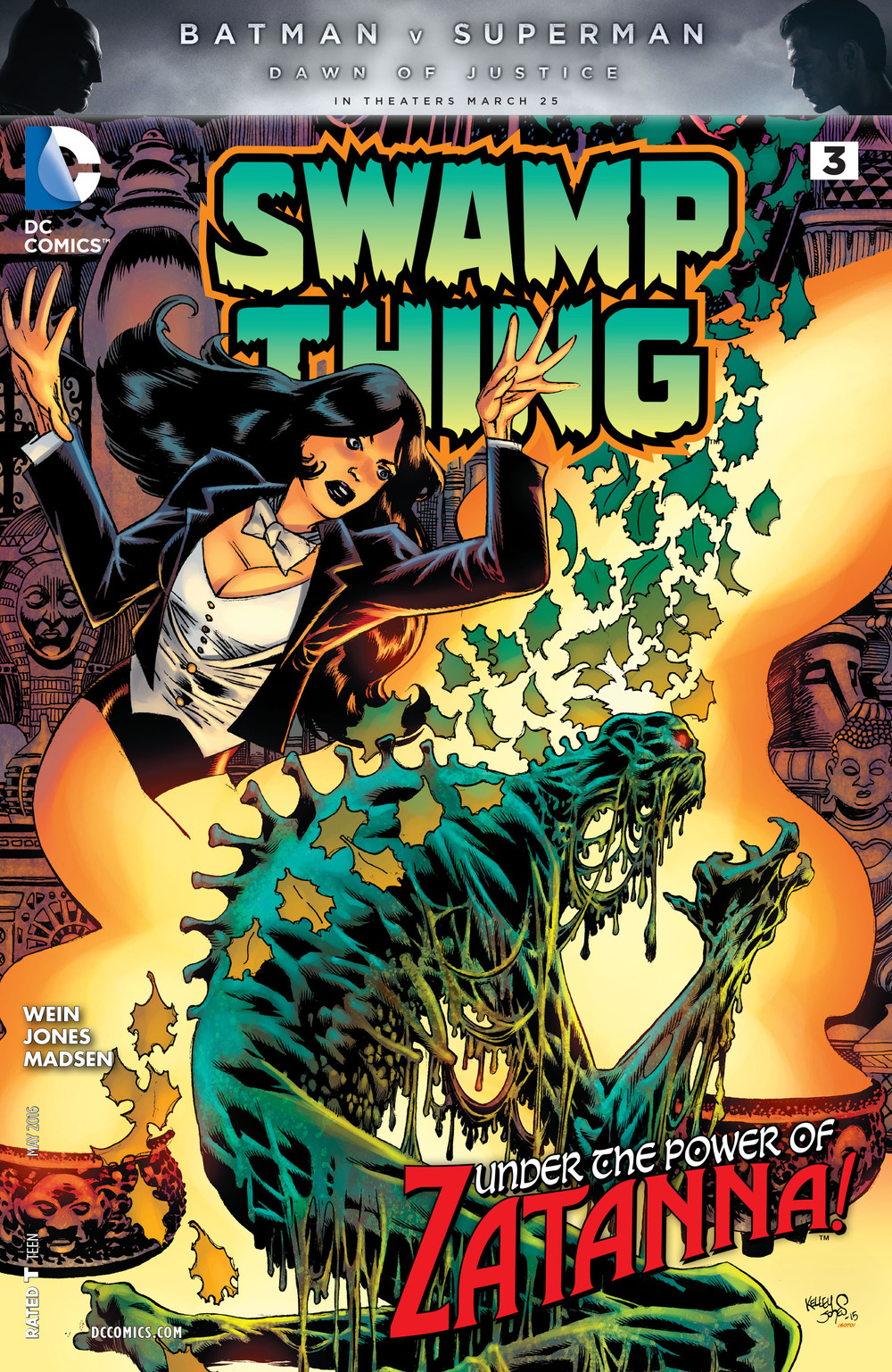 DC's Swamp Thing #3