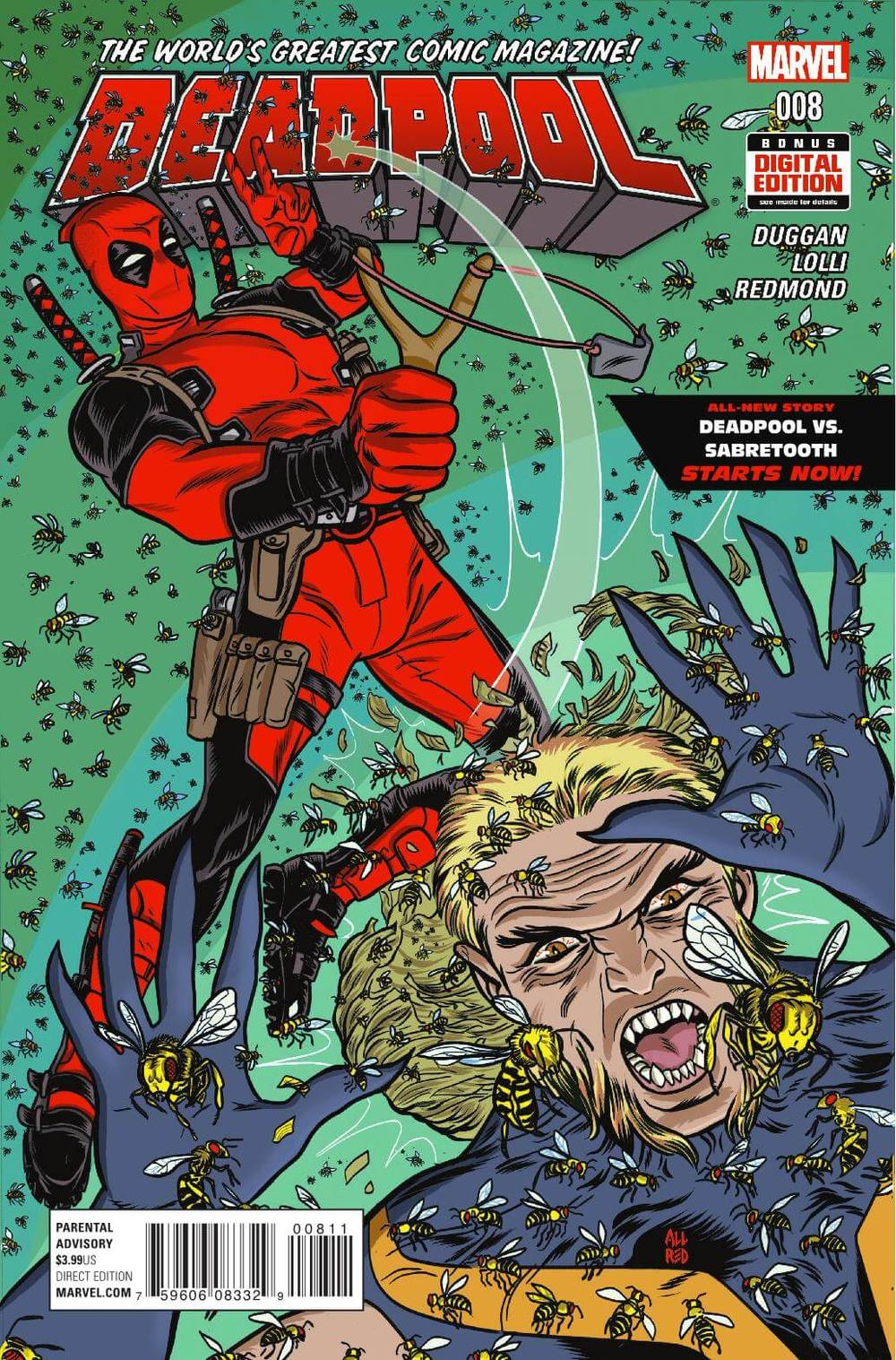 Marvel's Deadpool #8