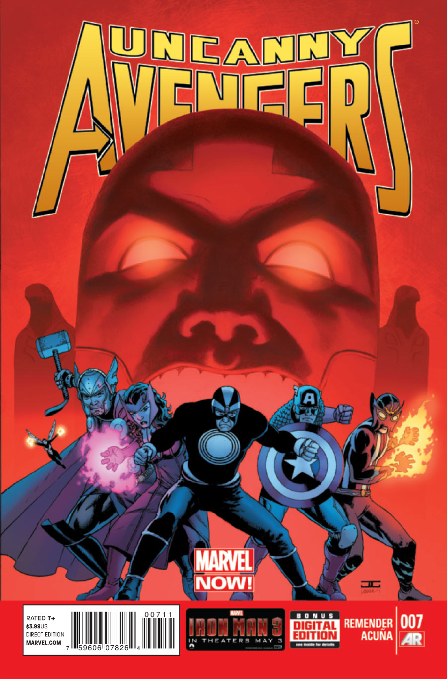 Marvel's Uncanny Avenger's #6