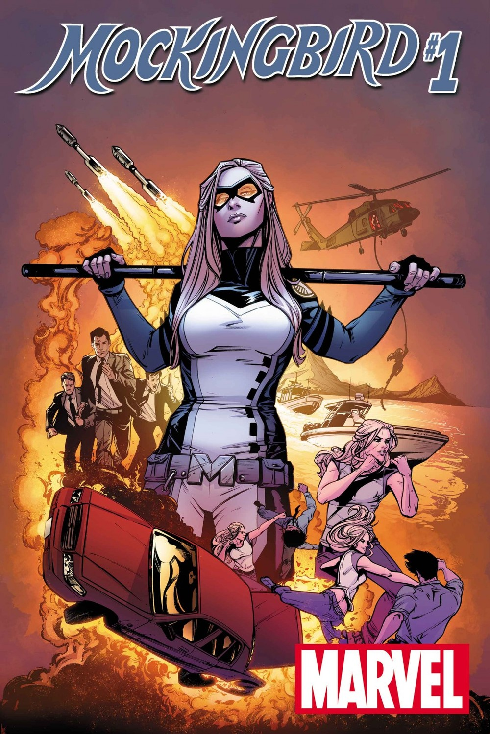 Marvel's Mockingbird #1