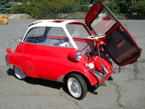 Urkle's Car. 1955 BMW Isetta