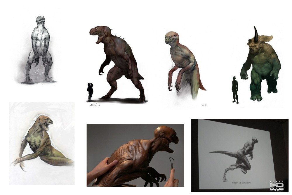 Jurassic Park 4 Concept Art... BOO!