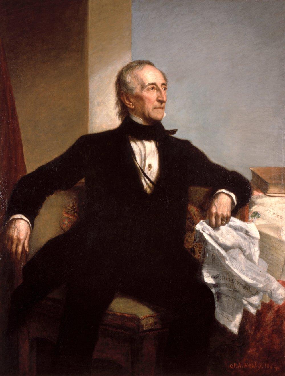 George Peter Alexander Healy -John Tyler