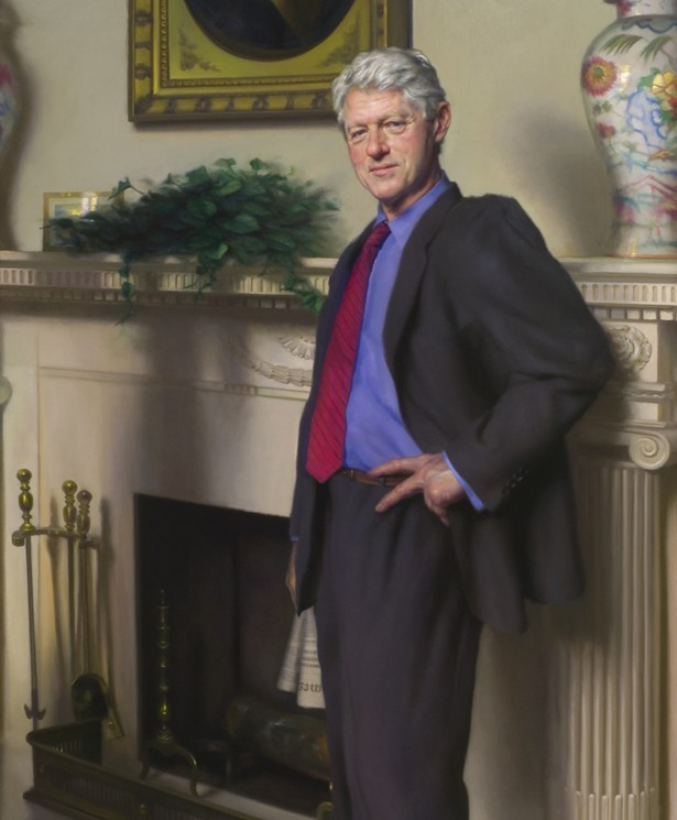 Nelson Shanks - Bill Clinton  *Controversial Portrait*