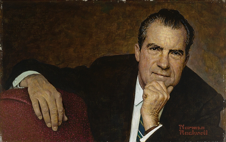 Norman Rockwell - Richard Nixon