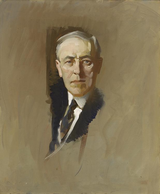 John Christen Johansen -Woodrow Wilson