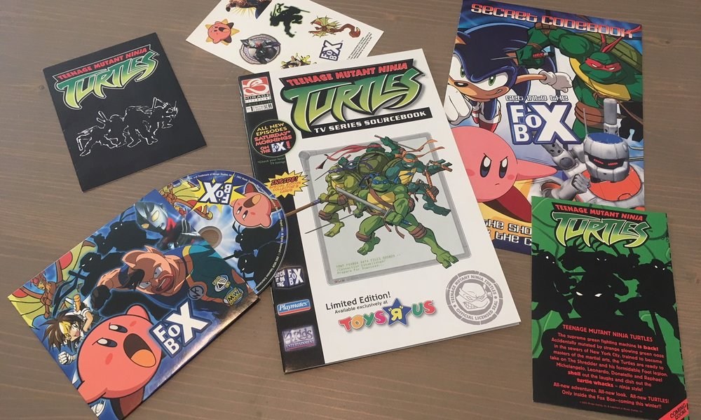 TMNT Freebie Motherload!