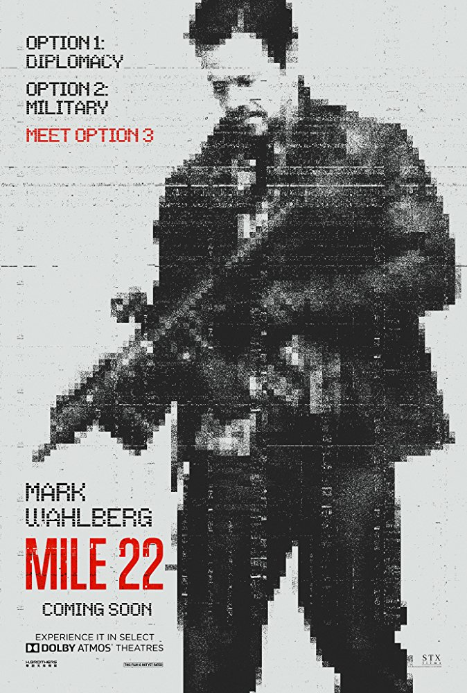 3. Mile 22 - Watching the Trailer for this movie makes me think that Mark Wahlberg was just jealous that he was never cast as Ethan Hunt or Jason Bourne. I might hate this movie but it has so many people that I enjoy that I will see it anyway. John Malkovich in a major movie is always a treat that you can't deprive yourself of no matter how Wahlbergery the plot looks. Marky Mark seems to do good work with Peter Berg at the helm too.