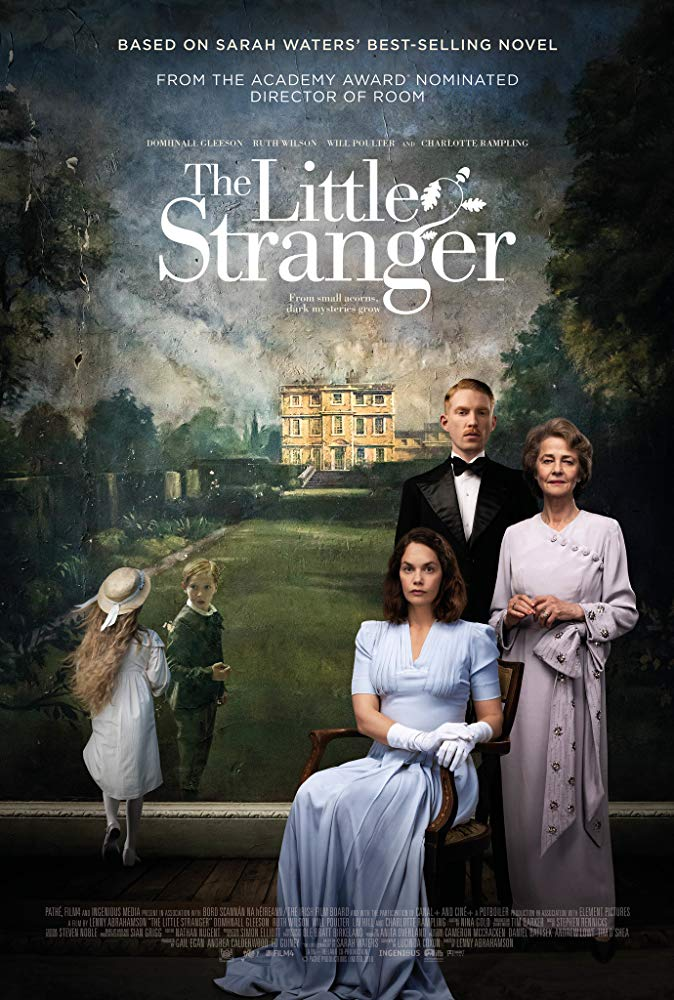 5.The Little Stranger - This period piece starring Domhnall Gleason and Ruth Wilson looks creepy, confusing, twisted, and fantastic. With all the superhero movies in recent years horror is probably my most ignored genre. A focus on film making from director Lenny Abrahamson (Oscar nominated for Room) and not just jump scares has me excited.