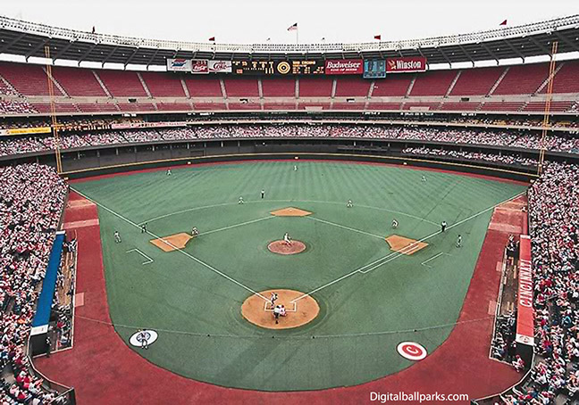 Cincinnati Reds - Riverfront Stadium (*defunct)