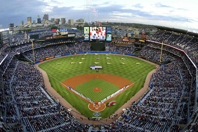 **Atlanta Braves - Turner Field Stadium (*defunct) ( I toured Turner Field but didn't actually get to see a game there, so while a noteworthy memory, I don't count this one toward my final tally.)