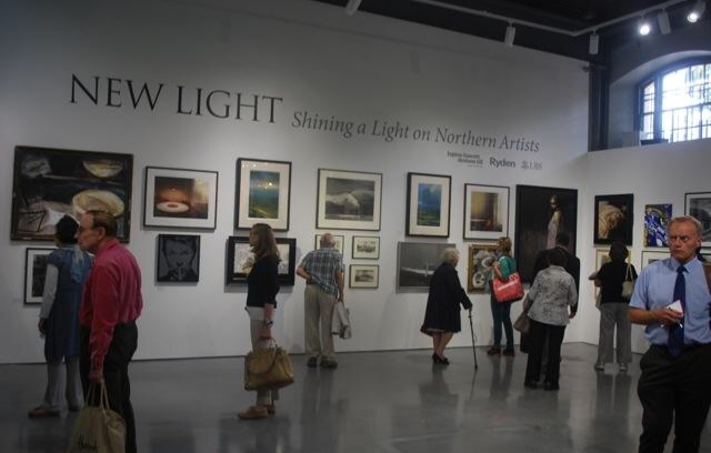 Sneak peak of NEW LIGHT exhibition  at the Mall Galleries.