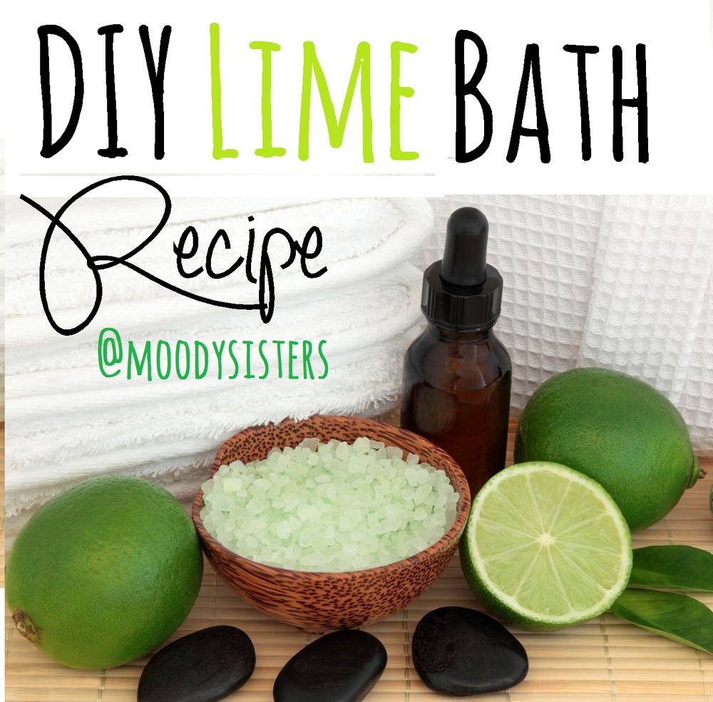 DIY Lime Bath Recipe, DIY Spa, Home Recipes, Lime Benefits for Skin