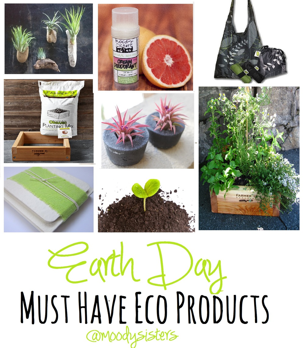Earth Day, Giveaway, Eco-Friendly, Eco Living, Green Living, Green Life, Eco Life, Reusable, Recycled, Garden, Organic Living, Organic, Natural, Fresh, Simple, Easy, Moody Sisters, Anson Design Co, Elodie's Shop, Esse Reusable Bags, Lady Bags SF