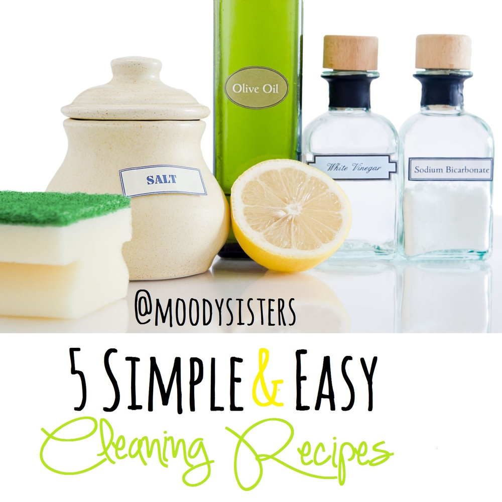 simple easy diy cleaning recipes