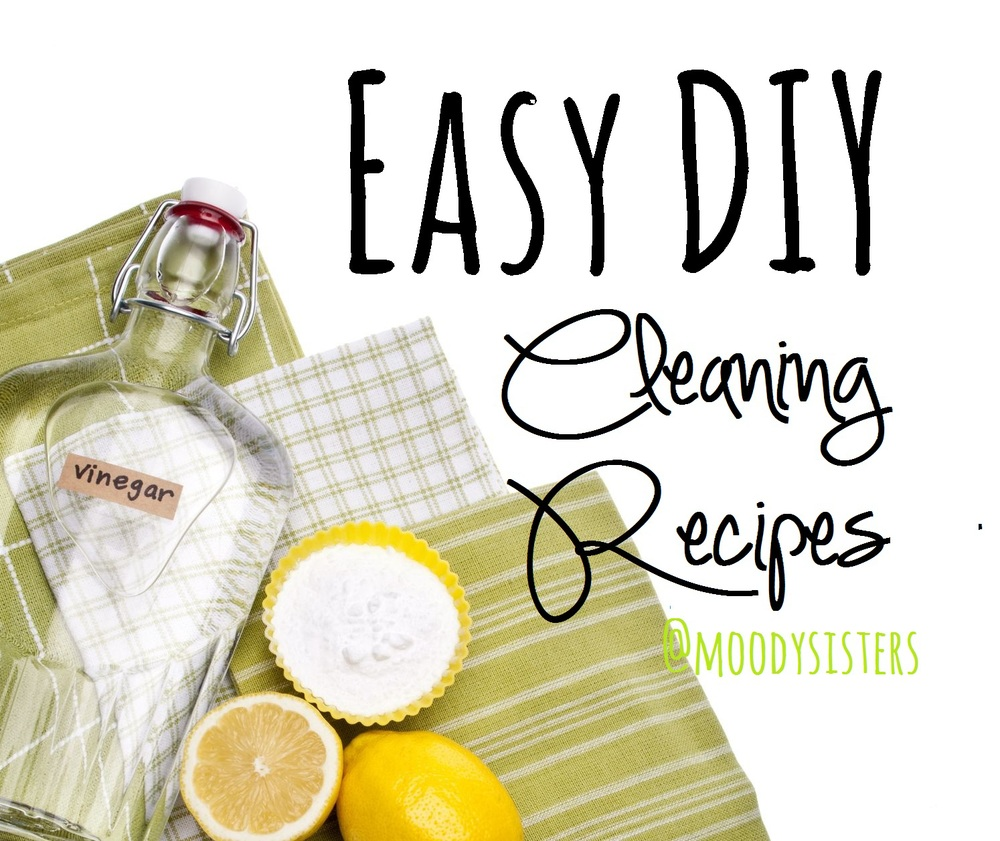 diy simple home clean recipes