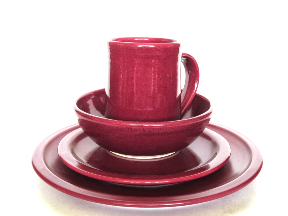 crutchfield pottery dinnerware set