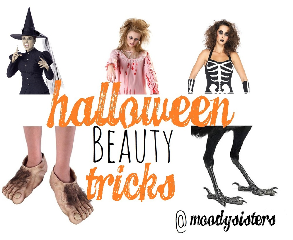 Moody Sisters Skincare Natural Beauty Halloween Tricks