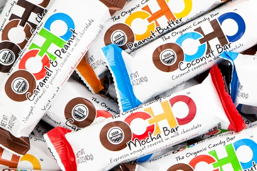 Ocho Candy Bars