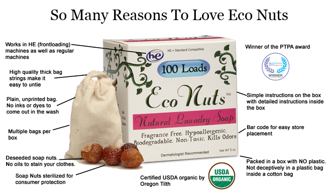 Eco Nuts Laundry Soap Moody Sisters Earth Day Guide