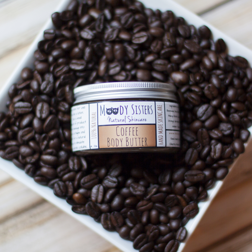 Moody Sisters Earth Day Guide Coffee Body Butter