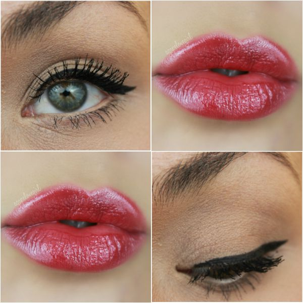 How to wear bold red lips from Maria