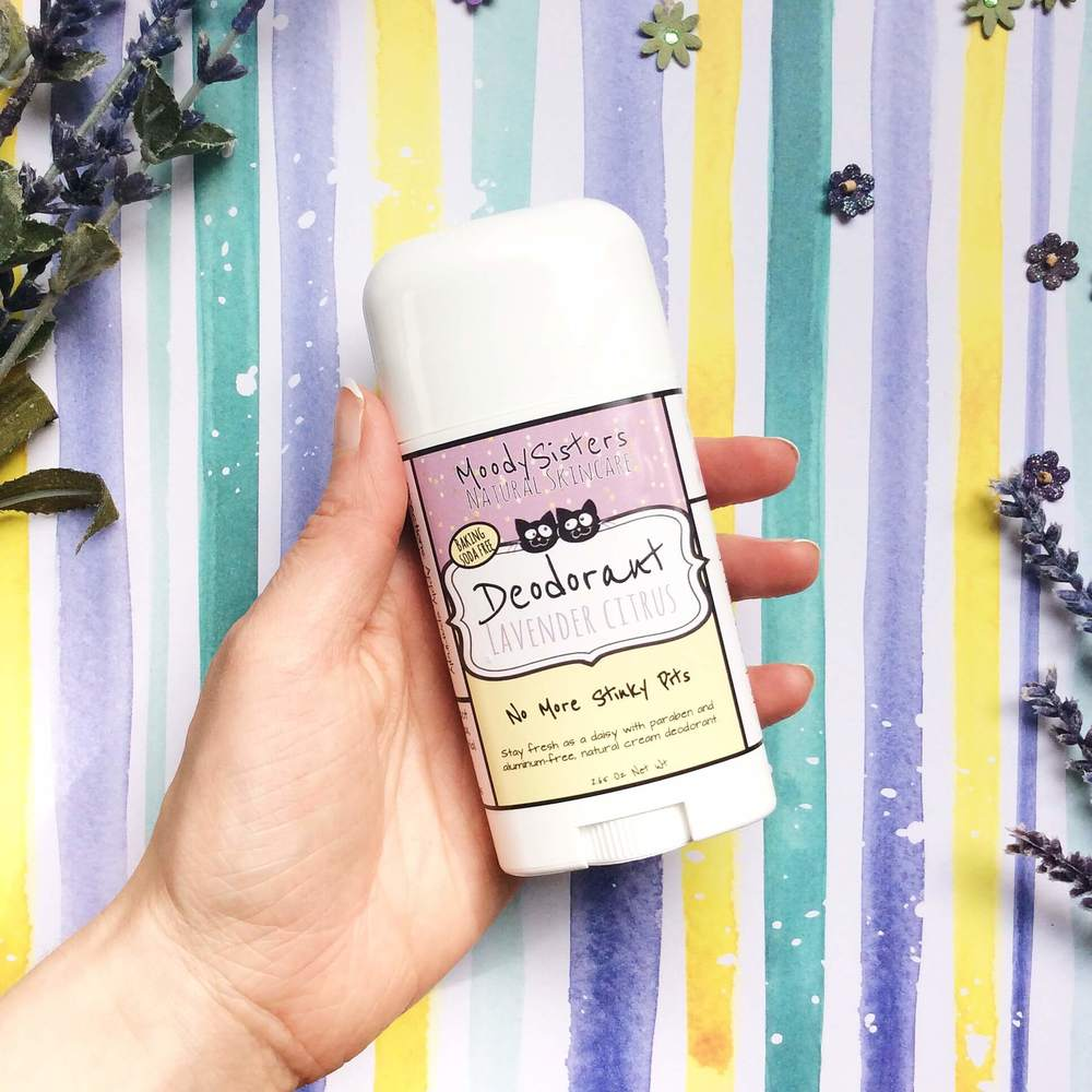 Refreshing Lavender Citrus deodrant