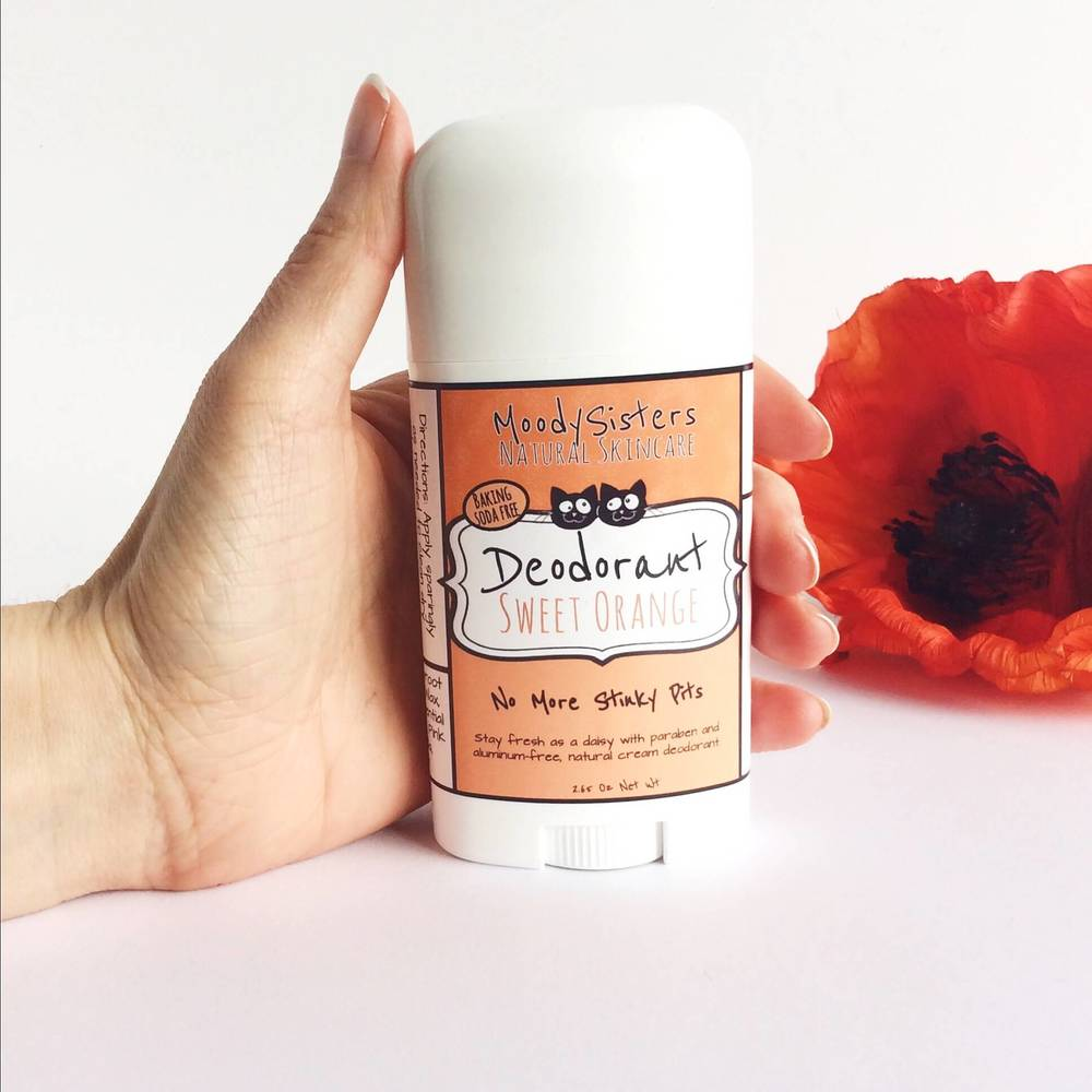 Baking Soda Free Natural Deodorant